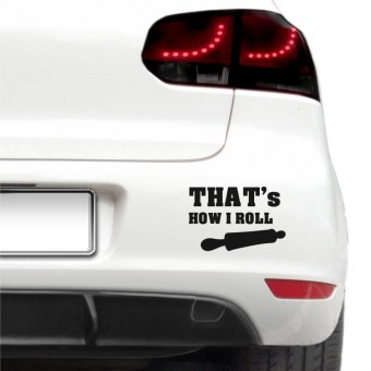 Sticker auto - How I roll