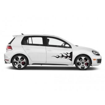 Sticker auto - Flacari