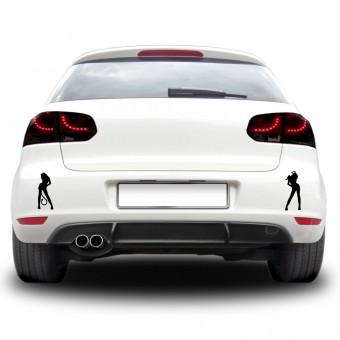 Sticker auto - Ispita