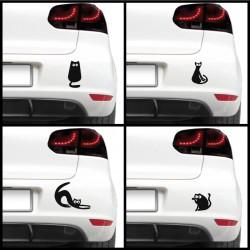 Sticker auto - Pisicute dragute (pachet)