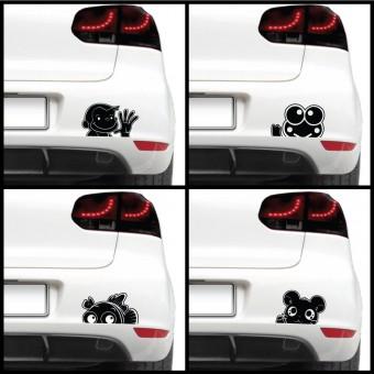 Sticker auto - Animale haioase (pachet)