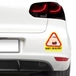 Baby on board - Baiatul plangacios