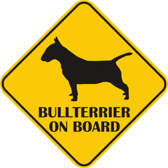 Sticker auto - Bullterrier