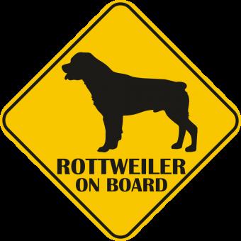 Sticker auto - Rottweiler