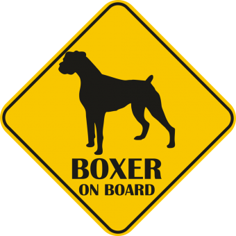 Sticker auto - Boxer