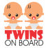 Baby on board - Twins on board - Gemeni