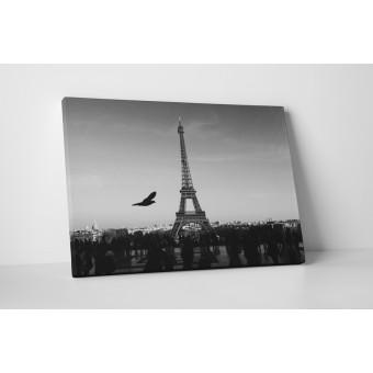 Turnul Eiffel in alb-negru