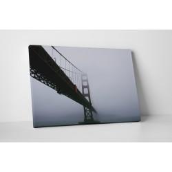 Podul Golden Gate in ceata