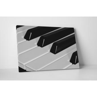 Pianul alb-negru