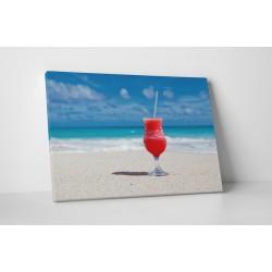 Un cocktail pe plaja