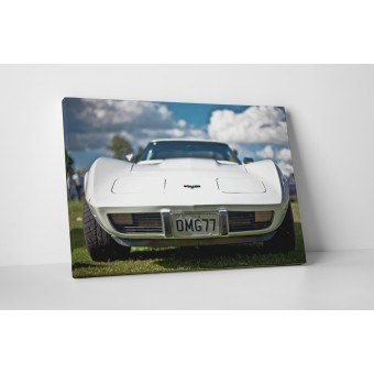 Corvette alb