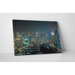 Orasul Dubai noaptea