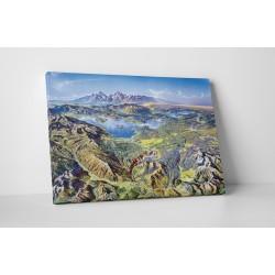 Peisaj de munti inalti