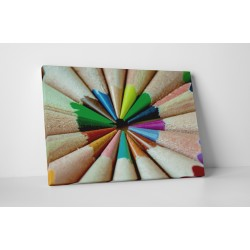 Creioane colorate ascutite