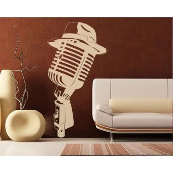 Microfon cu palarie