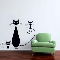 Familie de pisicute