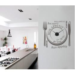 Bon Appétit + Ceas perete