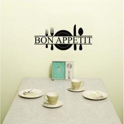 Bon Appetit *Promotie* 50x22cm, Negru