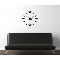 Ceas din fluturi + ceas perete