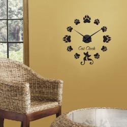 Labute de pisici + ceas perete