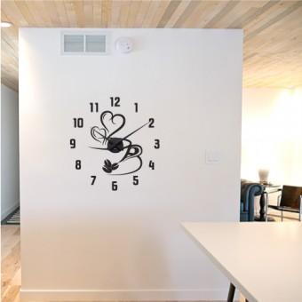 O cafeluta + ceas perete