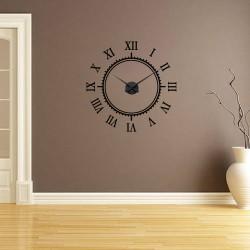 Cifre romane + ceas perete