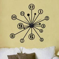 Steluta + ceas perete