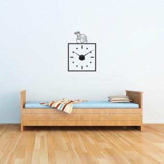 Melcul smecher + ceas perete