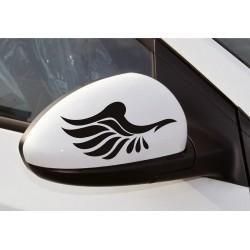 Sticker oglinzi retrovizoare - Aripi