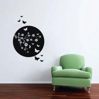Creanga cu fluturi