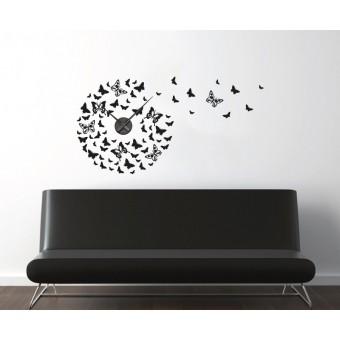 Sute de fluturi + ceas perete