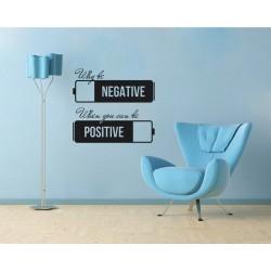 Negativ - pozitiv