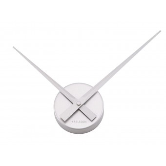 Ceas de perete Karlsson - Silver