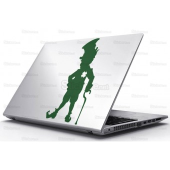 Sticker Laptop - Spiridus Irlandez