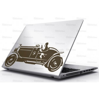 Sticker Laptop - Masina 1942