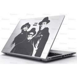 Sticker Laptop - Run Dmc