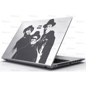 Sticker Laptop - Run Dmc