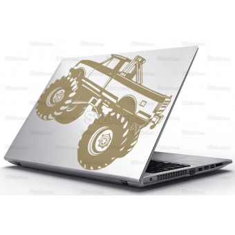 Sticker Laptop - Monster truck