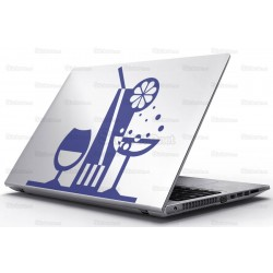 Sticker Laptop - Bauturi pe tava