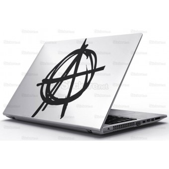 Sticker Laptop - Anarhie