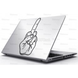 Sticker Laptop - Un semn international
