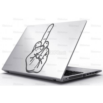 Sticker Laptop - Un semn international