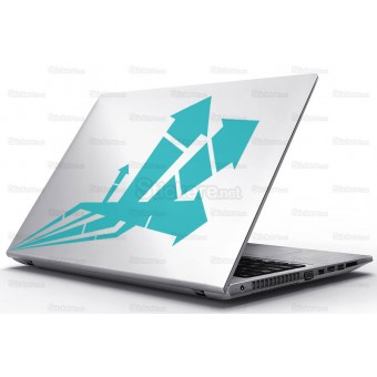 Sticker Laptop - Artificiile