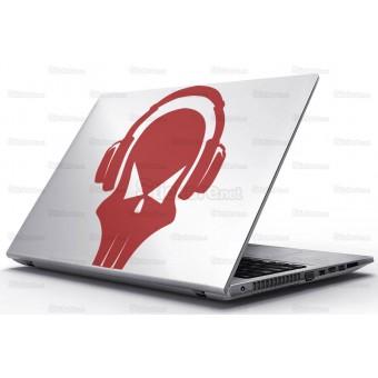 Sticker Laptop - Muzica e tare