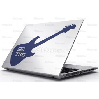 Sticker Laptop - Chitara rock