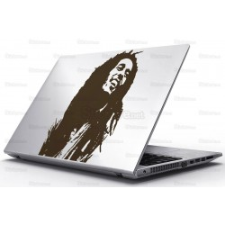 Sticker Laptop - Bob Marley