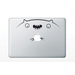 "Sticker MacBook 13.3"" - Hamster vesel"