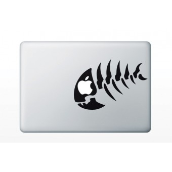 "Sticker MacBook 13.3"" - Fishbone"