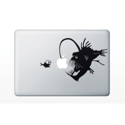 "Sticker MacBook 13.3""- Peşte-undiţar"