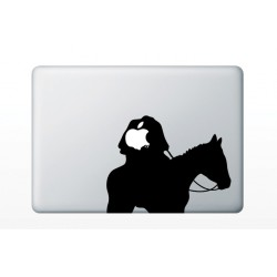 "Sticker MacBook 13.3"" - Cavelerul anonim"